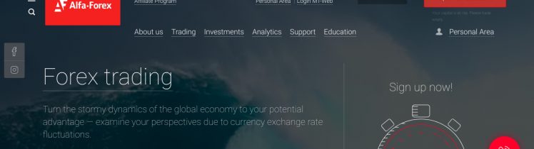 Alfa Forex trade forex metals and CFDs online