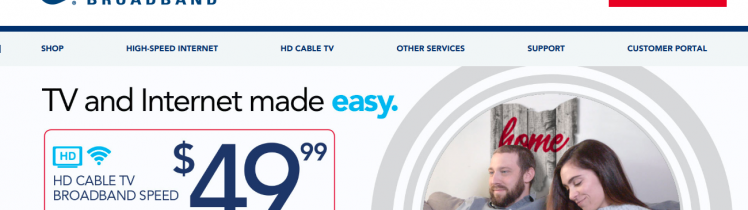 High Speed Internet Cable TV Phone Provider