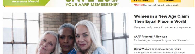 AARP Official Site Logo