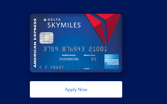 Apply For Blue Delta SkyMiles Credit Card