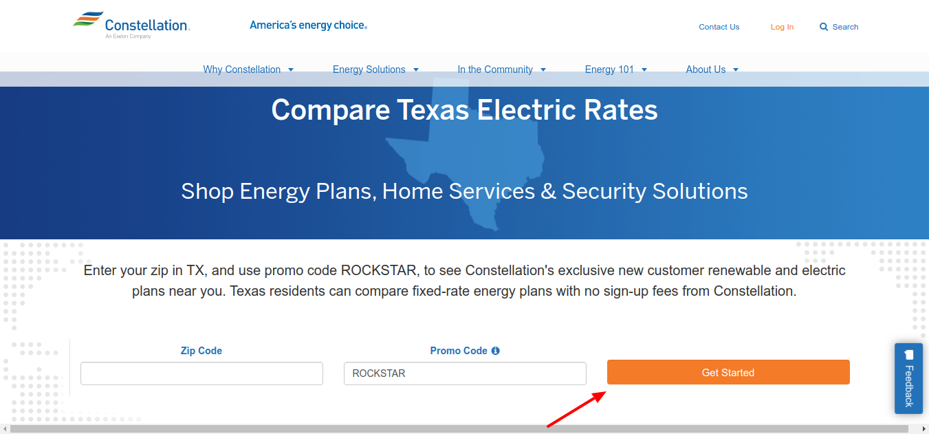 Constellation Electricity Rates Get Started