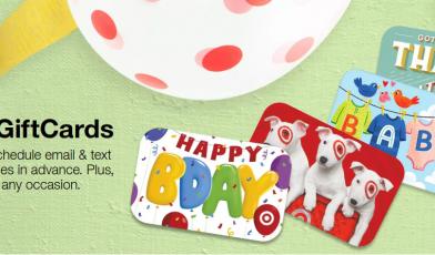 Gift Cards Target Logo