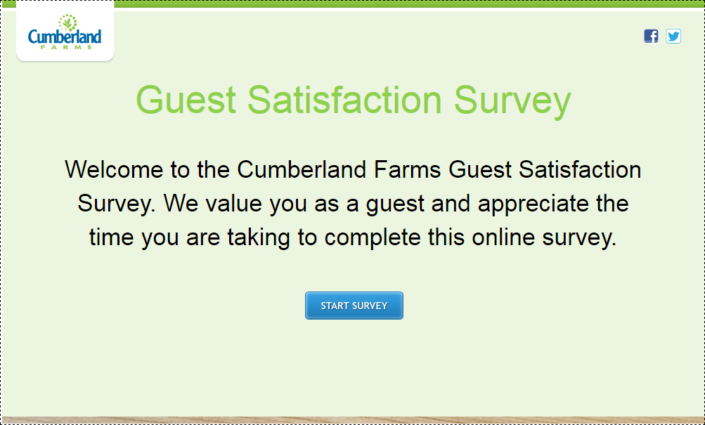 Cumberland Farms Guest Survey