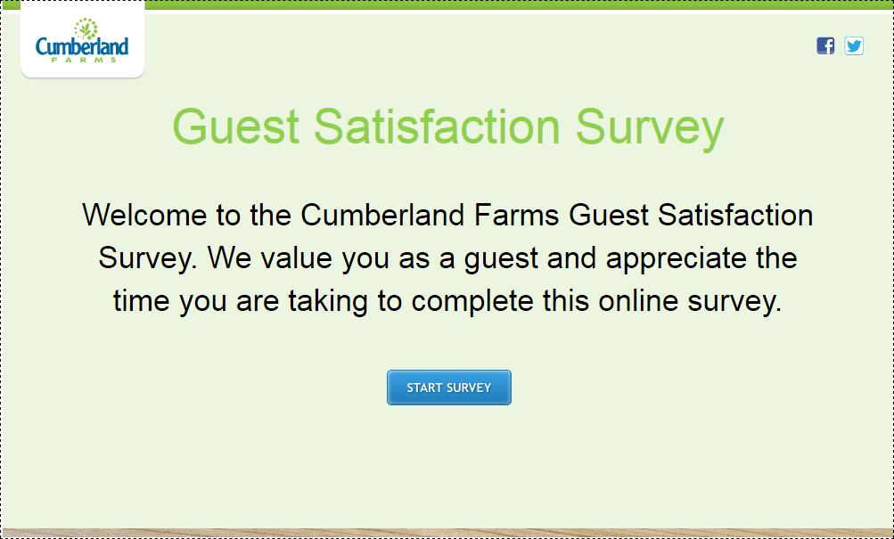 Cumberland Farms Guest Survey