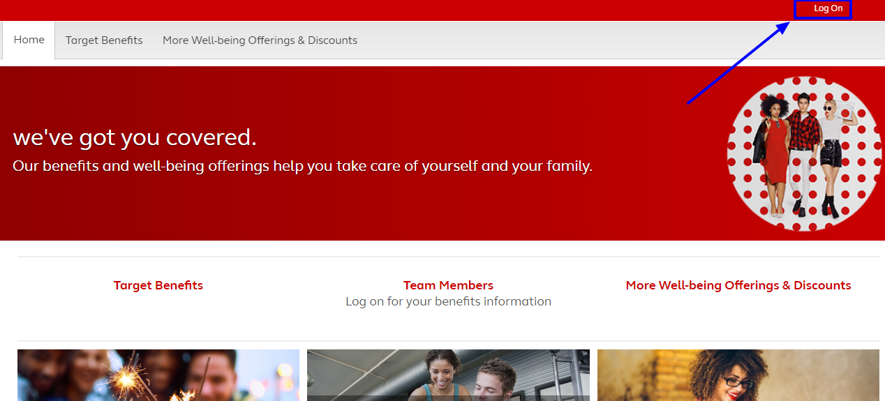 How to Access Target Pay and Benefits Portal