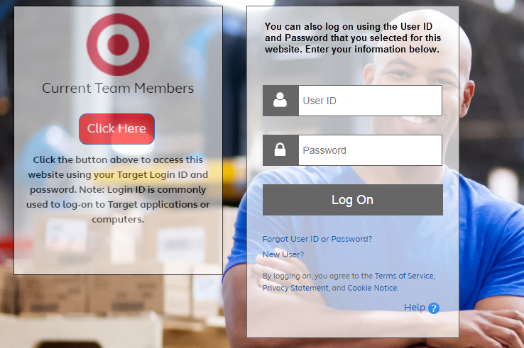 How to login Target Pay and Benefits Portal