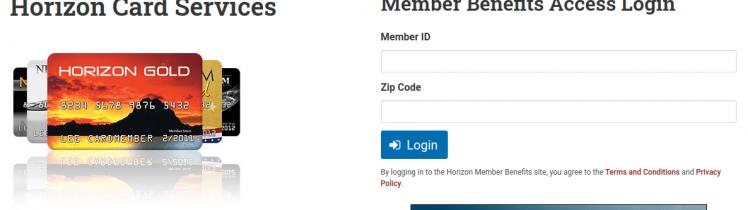 Horizon Member Benefits Logo
