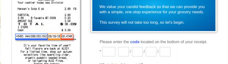 tell aldi survey