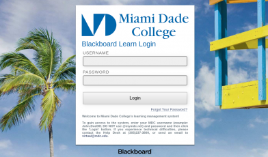 MDC Blackboard Login
