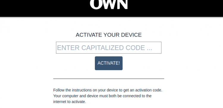 Activate OWN GO Logo