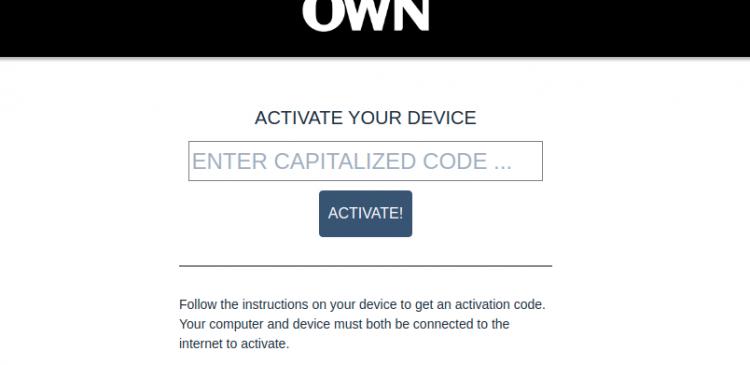 Activate OWN GO Logo