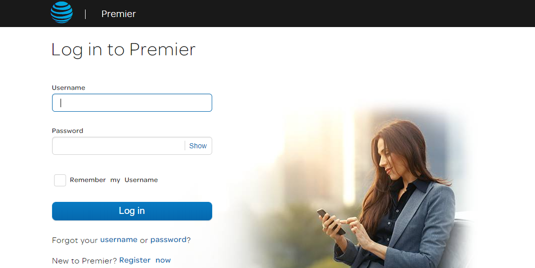 Log into Premier AT&T Wireless