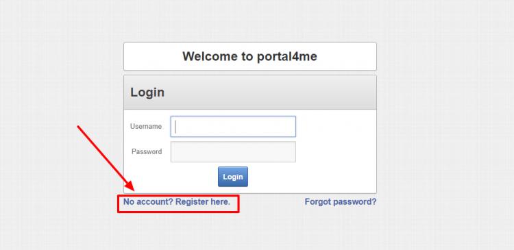 Portal4me login