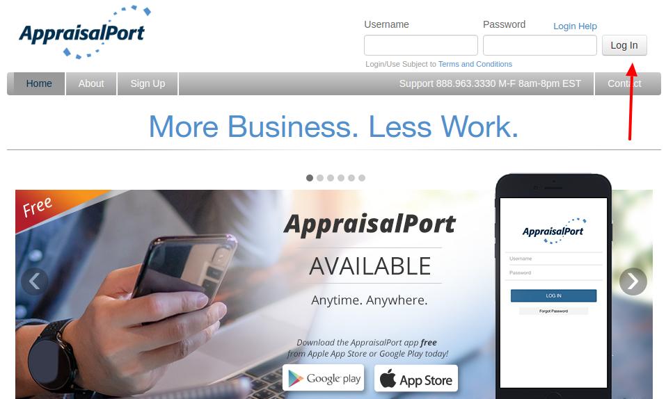 AppraisalPort Login