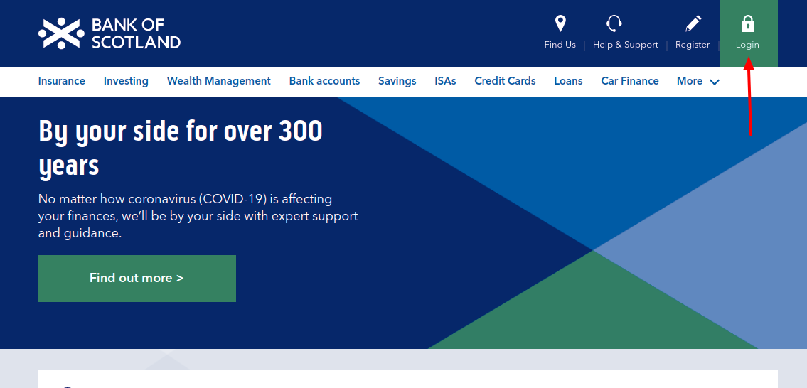 Bank of Scotland Login