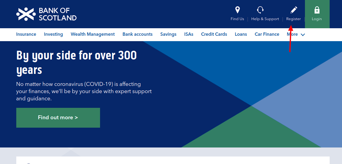 Bank of Scotland Register