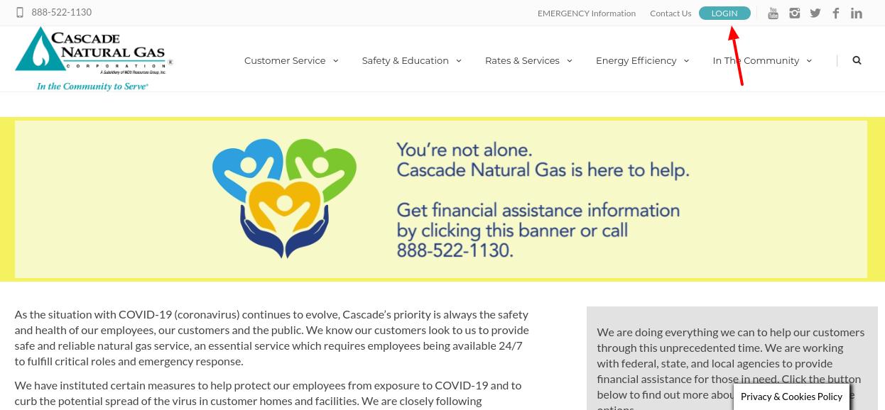 CNGC login