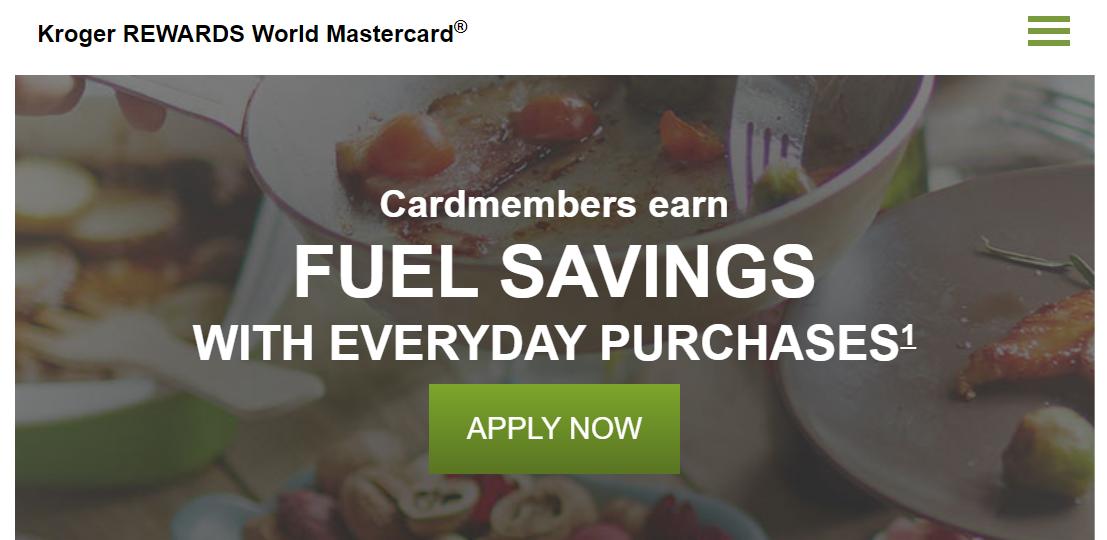 Kroger REWARDS Credit Card Apply