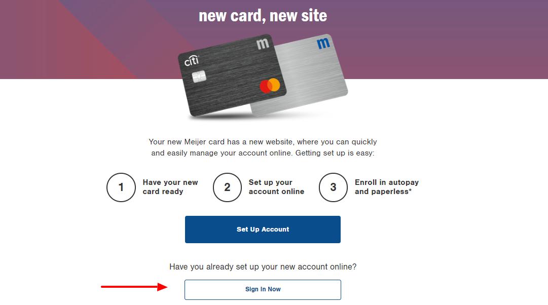 Meijer Card Sign In