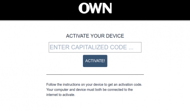 OWN GO Activate
