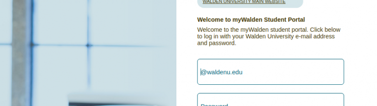 Walden Student Logo