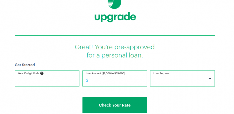 Upgrade Check Rate Logo