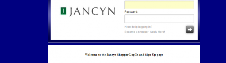 Jancyn Mystery Shopper Login