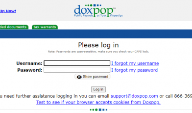 Doxpop Account Login
