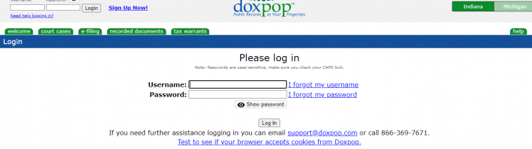 Doxpop Account Login