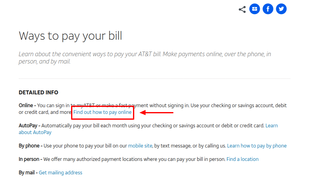 DIRECTV Bill Pay