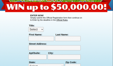 Publishers Clearing House Survey