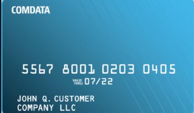 Comdata Card Logo
