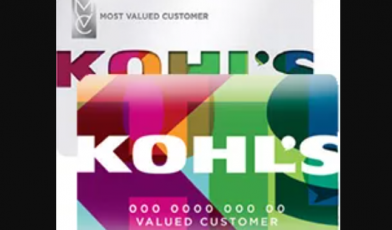 kohl's credit card logo
