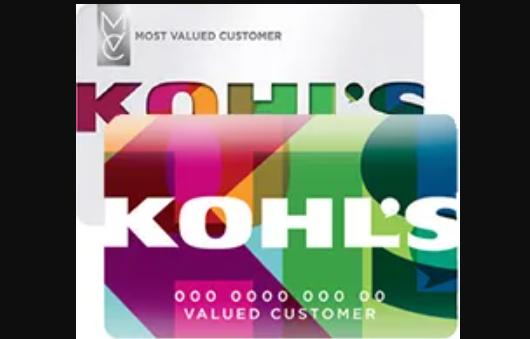 kohl's credit card logo
