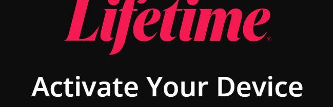 mylifetime activate logo