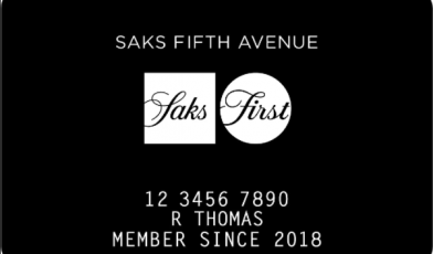 saks card logo