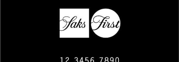 saks card logo