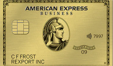 AMEX Business Gold Card