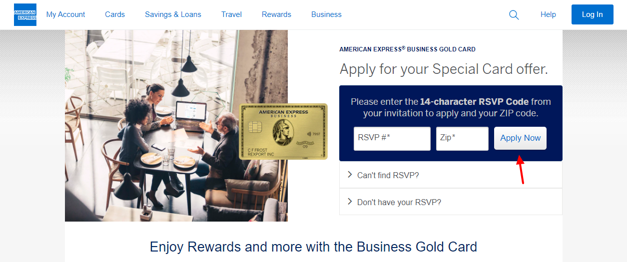 apply for amex gold card