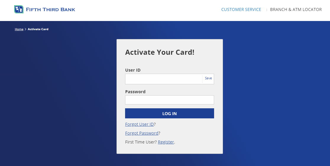 Fifth Third Bank Card Activate