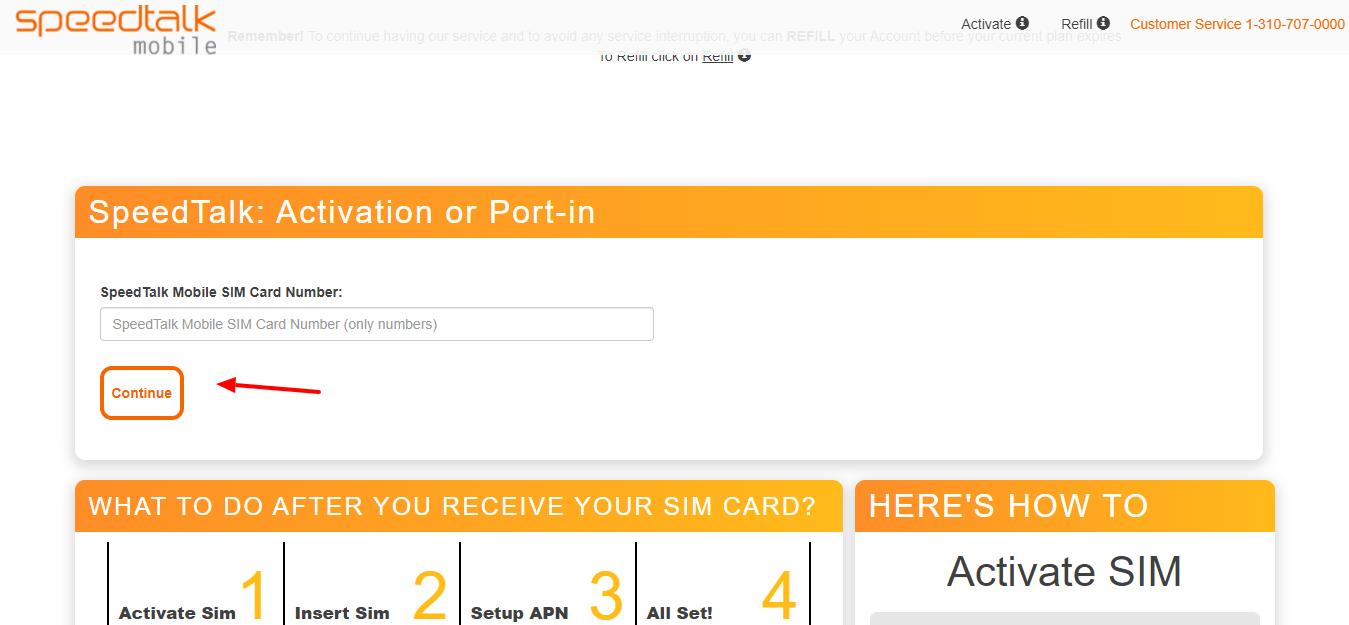 speedtalk sim card activation
