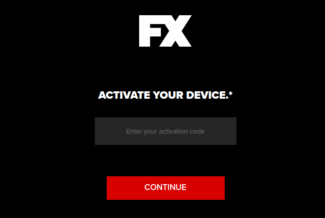 fxnetworks activate